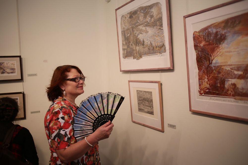 Поздравление с открытием выставки художников в прозе