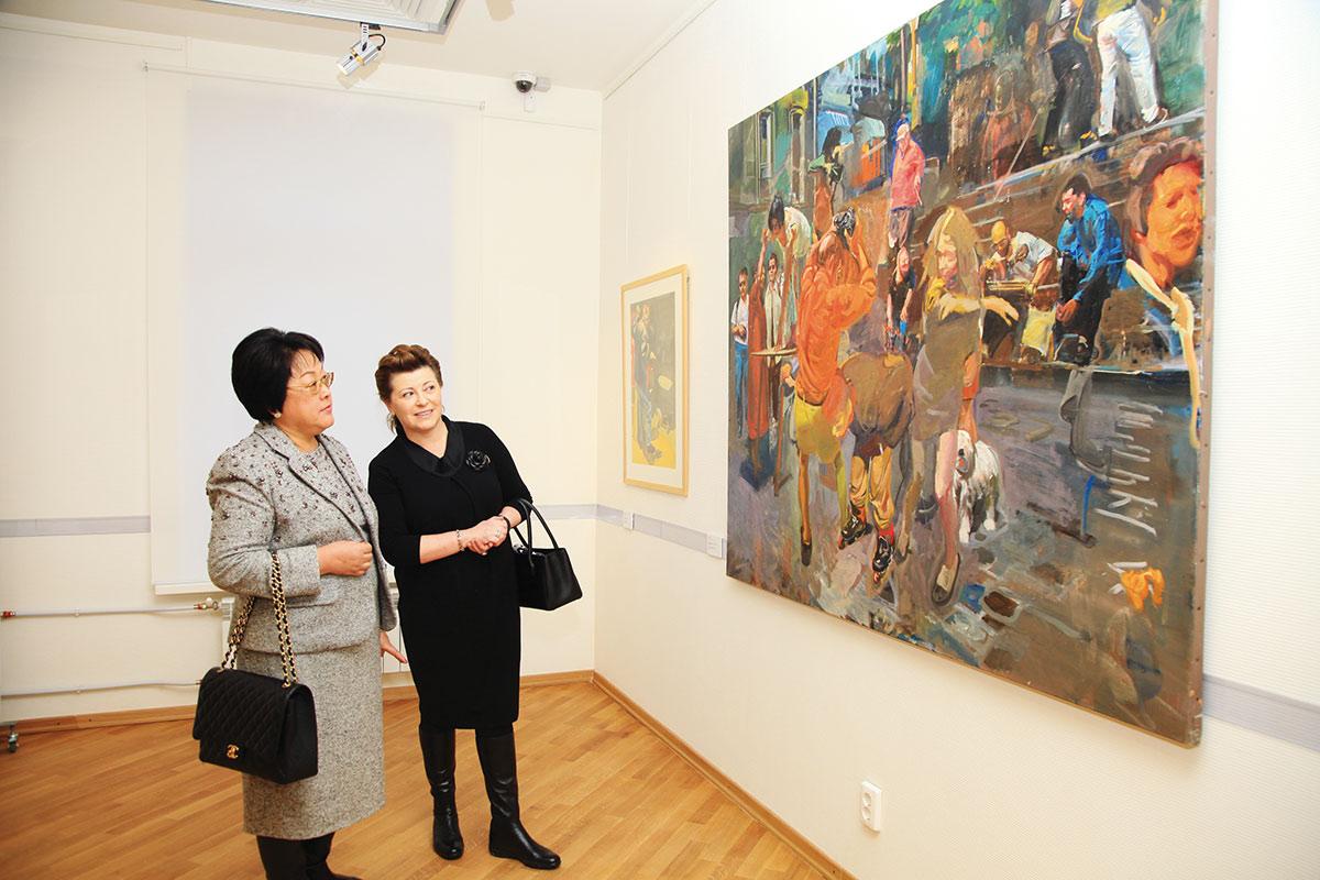 Картинные выставки зарубежный художник