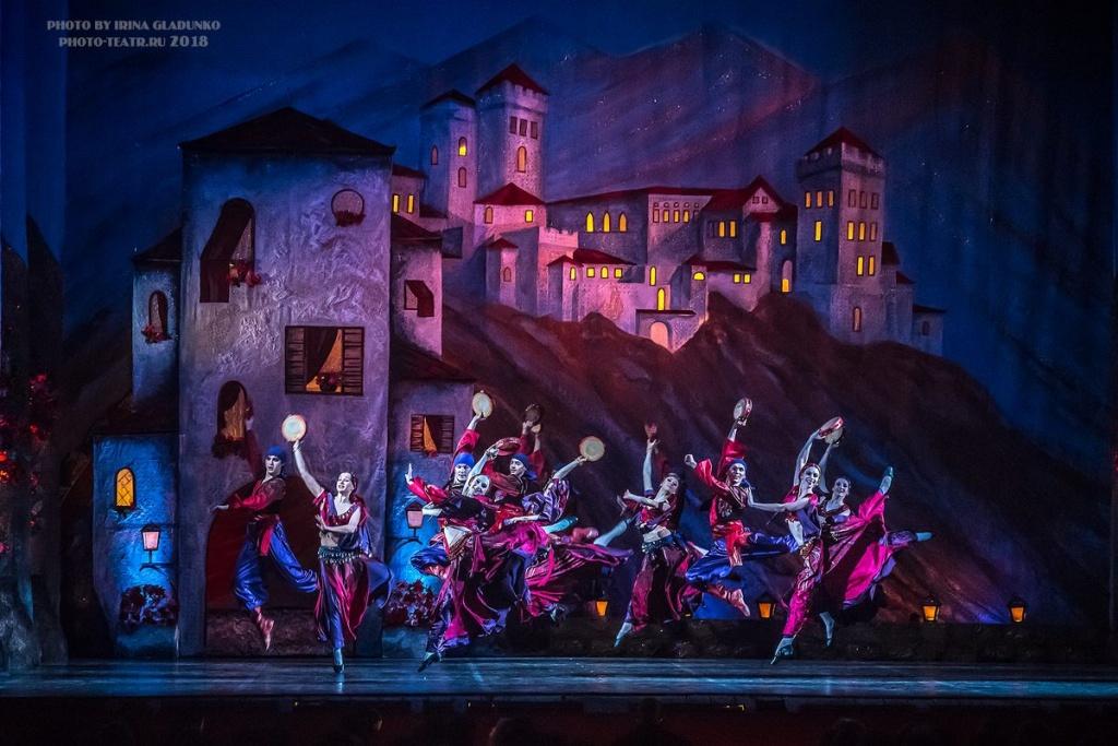 Сцена из балета «Дон Кихот»
