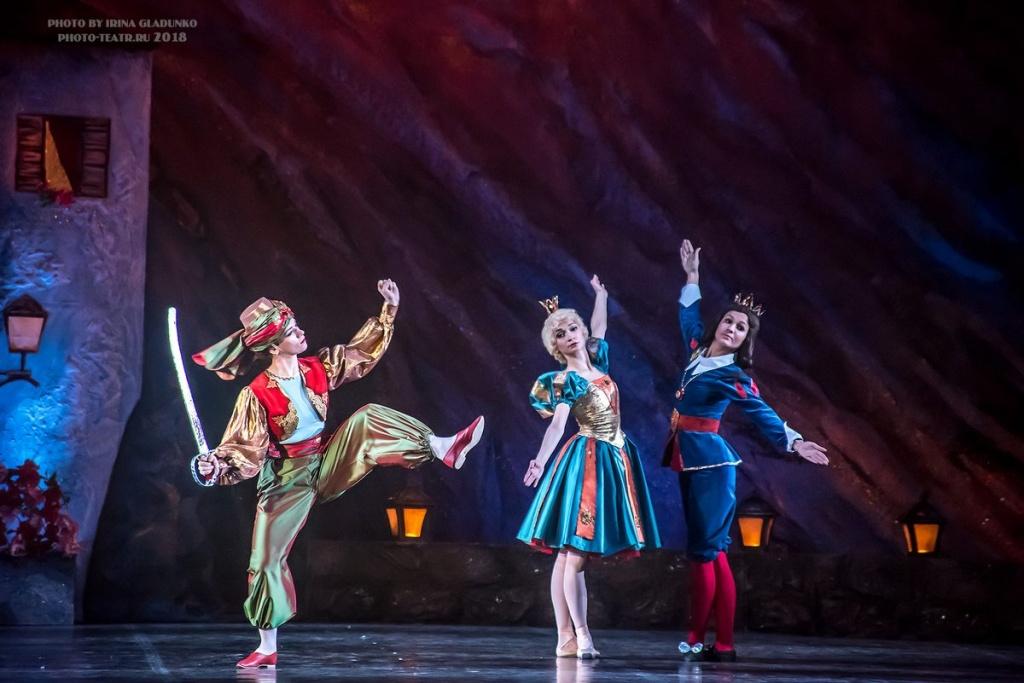 Театр марионеток из балета «Дон Кихот»