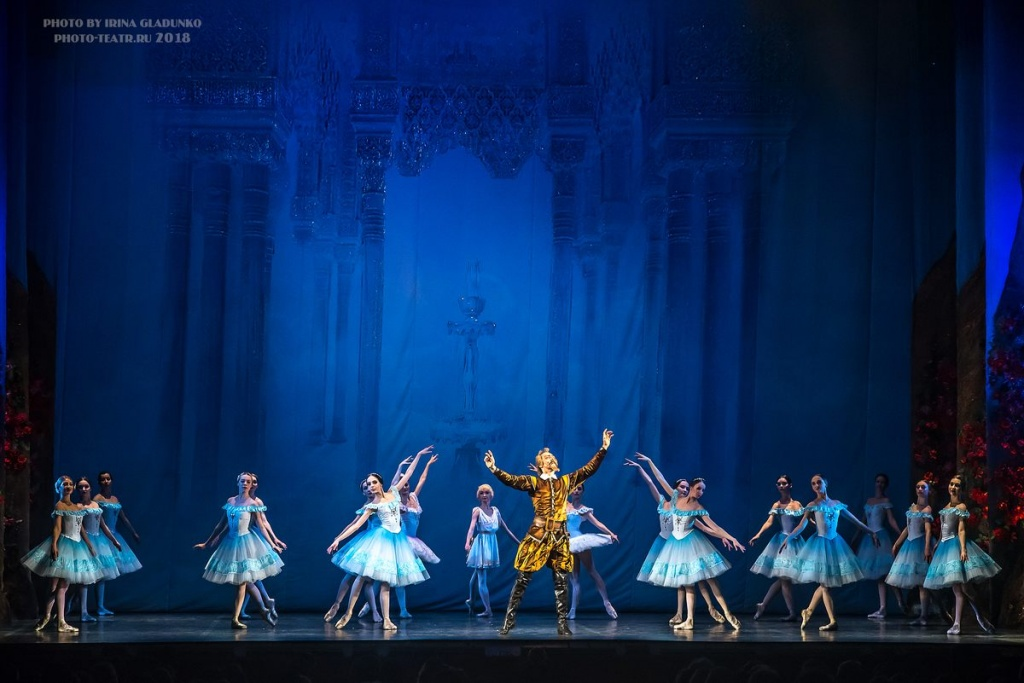 Сцена из балета «Дон Кихот». Царство дриад