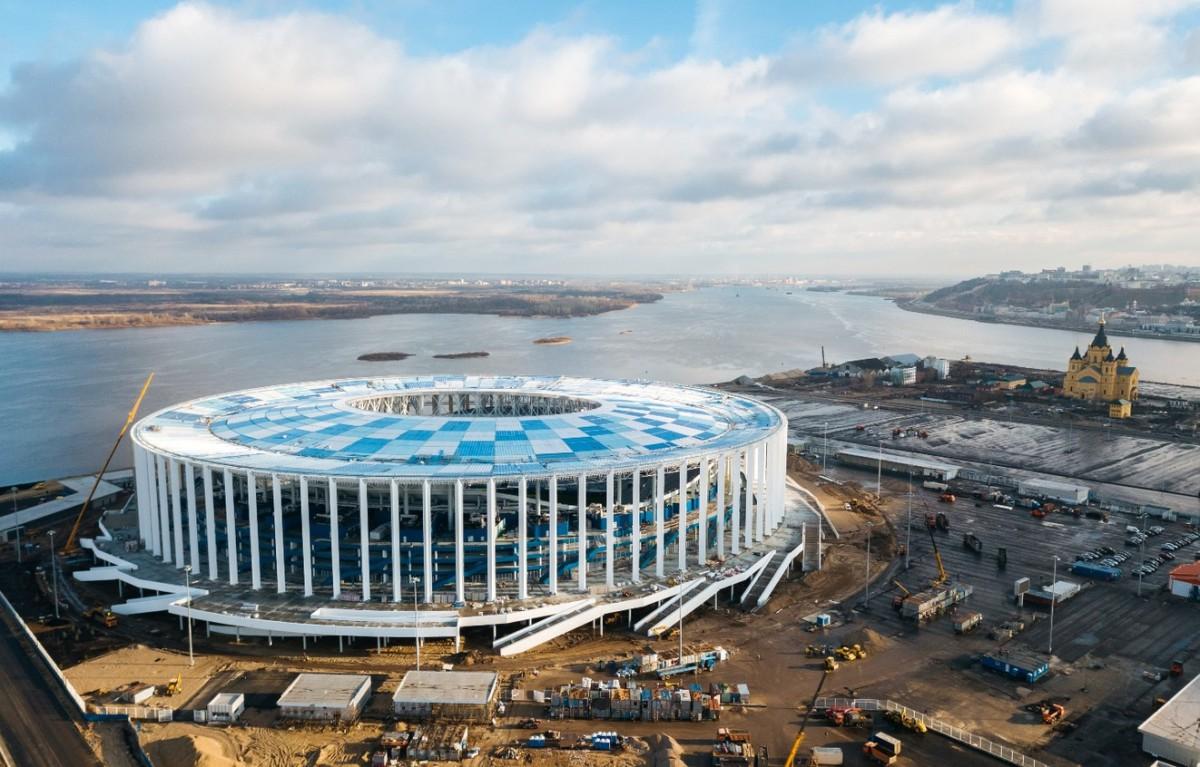 Стадион в нижнем новгороде к чм 2019 года - КалендарьГода